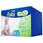 五羊(FIVERAMS) fbibi智能棉柔婴儿纸尿裤中包52片 中号M码【6-11kg】