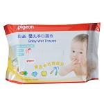 貝親(Pigeon) KA39 嬰兒手口濕巾70片裝 (無酒精)