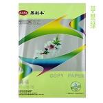 易利丰(ELIFO) 80克彩色复印纸 彩色纸 手工纸 手工折纸 打印纸 儿童益智剪纸折纸 苹果绿 A3