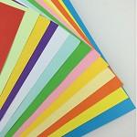 易利丰(ELIFO) 80克彩色复印纸 彩色纸 手工纸 手工折纸 打印纸 儿童益智剪纸折纸 牙粉色 A4