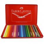 辉柏嘉(Faber-castell)115937 水溶性彩色铅笔 水溶彩铅36色套装