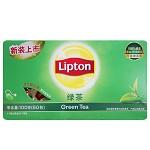 立顿(Lipton) 茶叶 绿茶 绿茶茶包50包 100g