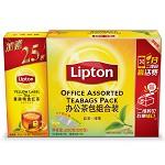 立顿(Lipton) 茶叶 红茶+绿茶 办公室组合装(红茶50包+绿茶50包)100包 200g (新老包装随机发货)