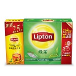 立顿(Lipton)茶叶 绿茶 绿茶茶包100包 200g(新老包装随机发货)