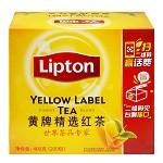 立顿(Lipton)茶叶 红茶 黄牌精选红茶200包 400g