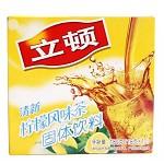 立顿(Lipton) 柠檬茶 清新柠檬风味茶10包 180g