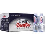 百岁山(Ganten)饮用天然矿泉水 348ml*24瓶/箱 整箱装