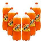 美年达(Mirinda)橙味 碳酸饮料 汽水 2L*6瓶/箱 10468