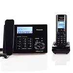 松下(Panasonic) KX-TG80CN 无绳电话机子母机 钢琴黑