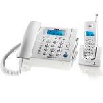 步步高(bbk) W163 无绳电话子母机 时尚欧式造型 家用办公 一拖一套装 (玉白)
