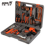 圣德保罗 SD-013 82件套电动工具组合 多用组套含电钻 家用车用工具箱五金工具包 多功能巡检包