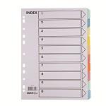易达(Esselte)SL-88010N纸质分类索引 五色分页纸