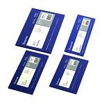 树德(Shuter)B7012 85×15㎝超薄复写纸 100张/盒 蓝色