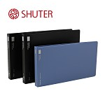 树德(Shuter)S110 单强力夹票据夹 黑色