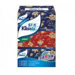 舒洁(Kleenex) 经典盒纸面纸200抽*3盒/提