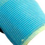 3M 舒适型防滑耐磨手套劳保劳防手套/防护手套/丁腈掌浸手套 多色 蓝色 L