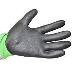 3M 舒適型防滑耐磨手套勞保勞防手套/防護手套/丁腈掌浸手套 多色 綠色 L