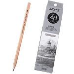 宝克(BAOKE)PL1654 办公绘图铅笔 绘画素描铅笔 多灰度 4H 12支装