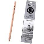 宝克(BAOKE)PL1606 办公绘图铅笔 绘画素描铅笔 多灰度 HB 12支装