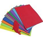 手工用材料 海绵纸10张10色/包 尺寸50*100cm