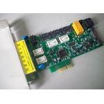 中孚 隔离卡K720SED双网双硬盘快速切换pci-e隔离卡支持固态硬盘