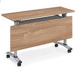 格诺瓦 格莱系列18P1403 橡木+暖白折叠条桌 1400*400*750