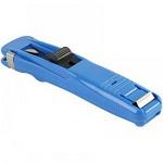 齐心(COMIX)B3395 夹纸器/推夹器/票夹器(中号)附送8枚补充夹 蓝色(缺货)