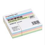 齐心(COMIX)C4213 彩色便签纸(107*96mm) 颜色随机