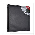 齐心(COMIX)A2104 商务名片册 二段八格/480枚 黑色