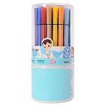 晨光(M&G)TCP90191 冬己卡通细杆水彩笔绘画笔 36色装 图案颜色随机
