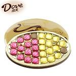 德芙(Dove)多种口味巧克力 牛奶巧克力和黑巧克力240g 礼盒装