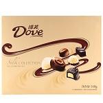 德芙(Dove)精心之选多种口味巧克力 糖果巧克力140g 礼盒装