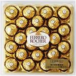 费列罗(Ferrero)榛果威化巧克力24粒钻石装300g