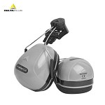 代尔塔(DELTA)103014 隔音耳罩 ABS外壳 防噪音耳罩 安全帽用耳罩 可调节高度 103014 浅灰色