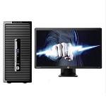 惠普(HP)ProDesk 480 G3 台式电脑 I5-6500 4G 1TB 集显 DVDRW DOS 三年保修 大客户优先管理服务+21.5寸显示器