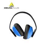 代尔塔(DELTA)103010 专业隔音耳罩 睡觉 防噪音 睡眠用 工厂车间工地学习 降噪 护耳器 浅蓝色