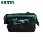 世达(SATA)95181 多功能加厚 帆布电脑维修工具包 五金电工工具袋 便携背包