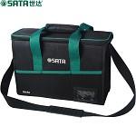 世达(SATA)09555 金电工包 家电维修 多功能大号工具包 帆布腰包加厚