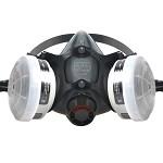 霍尼韦尔(Honeywell)5500系列 防毒面具套装 防有机蒸汽 工业粉尘 喷漆 焊接 打磨 农药 实验室 防尘面罩 1套