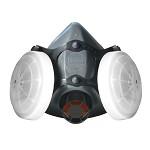 霍尼韦尔(Honeywell)5500系列 防尘面具套装 防工业粉尘 N95 男女 喷漆 焊接 打磨 农药 实验室 防毒面罩 1套