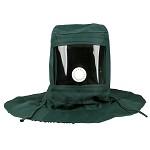 赛拓(SANTO)2008 工业防尘面罩全面具 打磨喷漆防粉尘防雾披肩帽