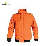 代尔塔(DELTA)时尚防寒冬装 加厚棉服 冬季男士款 棉衣外套 韩版 青少年 可拆卸袖子马甲 橙色 L