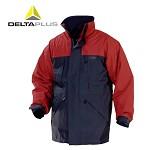 代尔塔(DELTA)防寒服超保暖 冬季男士时尚款外套风衣工作服 可脱卸衬里 防寒帽兜 XXL