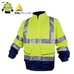 代尔塔(DELTA)防寒服反光荧光套装 轻便舒适 安全服衣服 安全交通 404012 S