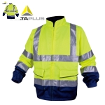 代尔塔(DELTA)防寒服反光荧光套装 轻便舒适 安全服衣服 安全交通 404013 M