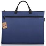得力(deli)5840 手提式双层商务收纳袋  购物袋 手拎袋 公文袋 文件袋颜色随机
