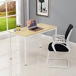 辉煌 现代简约台式电脑桌书桌宜家餐桌办公桌子会议桌铁架