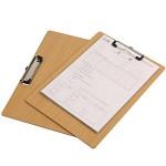 向扬 A4书写板夹 加厚木板夹 33.5*22.7cm 单个价