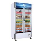 星星(XINGX)LSC-518K 双门冷藏展示柜 立式商用冰柜 保鲜柜 陈列柜 啤酒柜 饮料柜