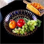 亚克力 创意现代客厅果盘 干果糖果盘KTV酒吧小果盘碟子 透明